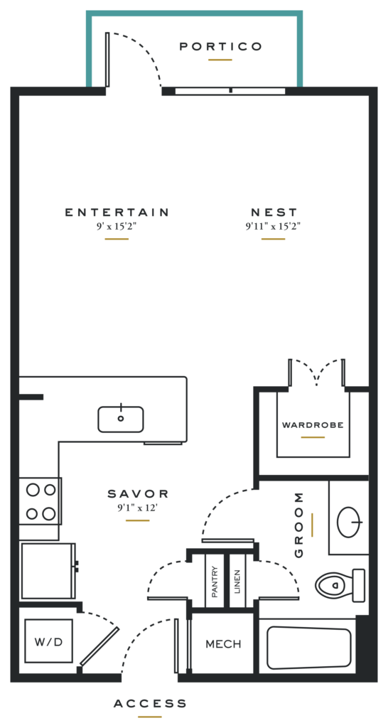 Dallas Studio Apartments